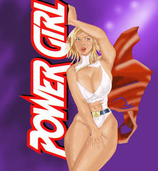 OMG Power Girl by SkyeUchiha