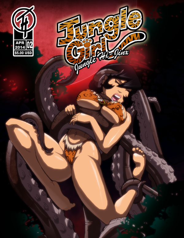 Jungle Girl Issue 2 Cover by Severflame