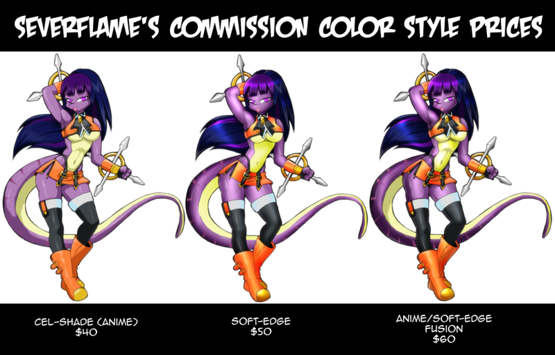 Commission Color Reference by Severflame