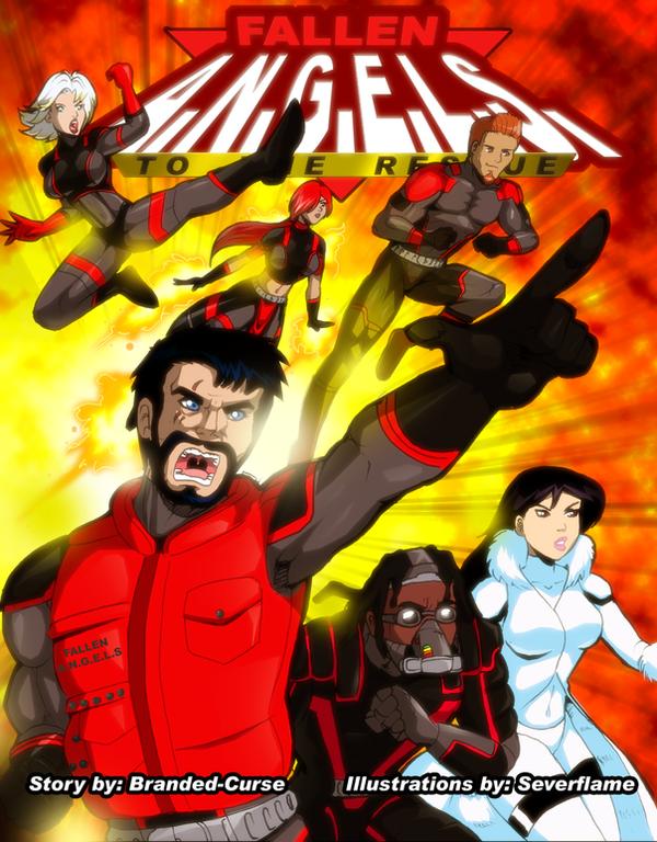 Fallen A.N.G.E.L.S.: To The Rescue Cover Page by Severflame