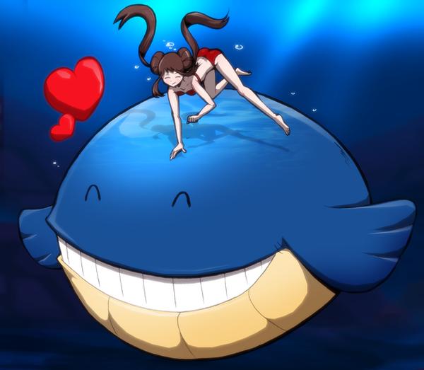 Wailmer's Little Friend by Severflame on DeviantArt Wailmer Pokemon