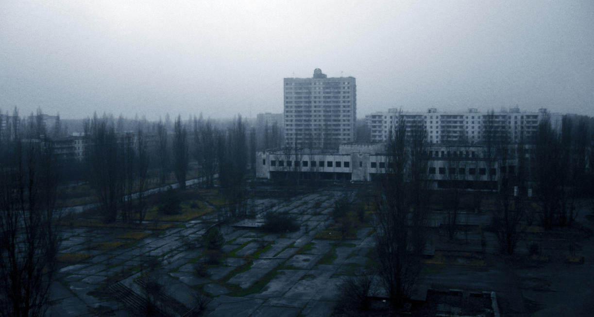 ghost town Pripyat by lacrimas-art