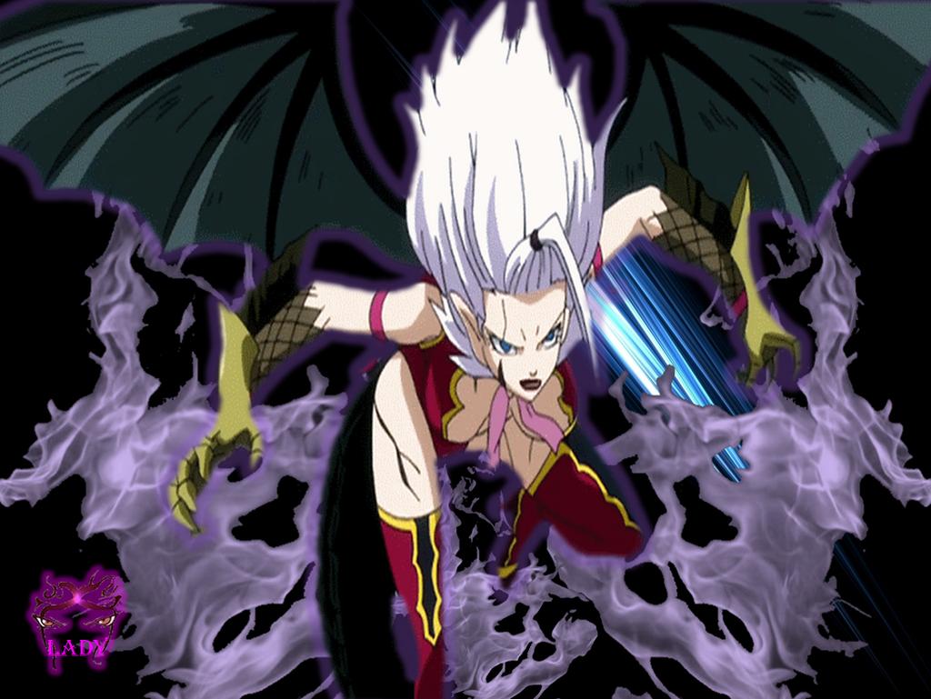 Cosplay Fairy Tail Mirajane Demon