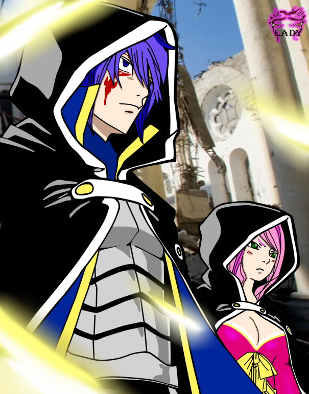 Jellal and Meredy. FT 364 by TheDemonLady on DeviantArt