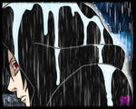 Madara in the rain