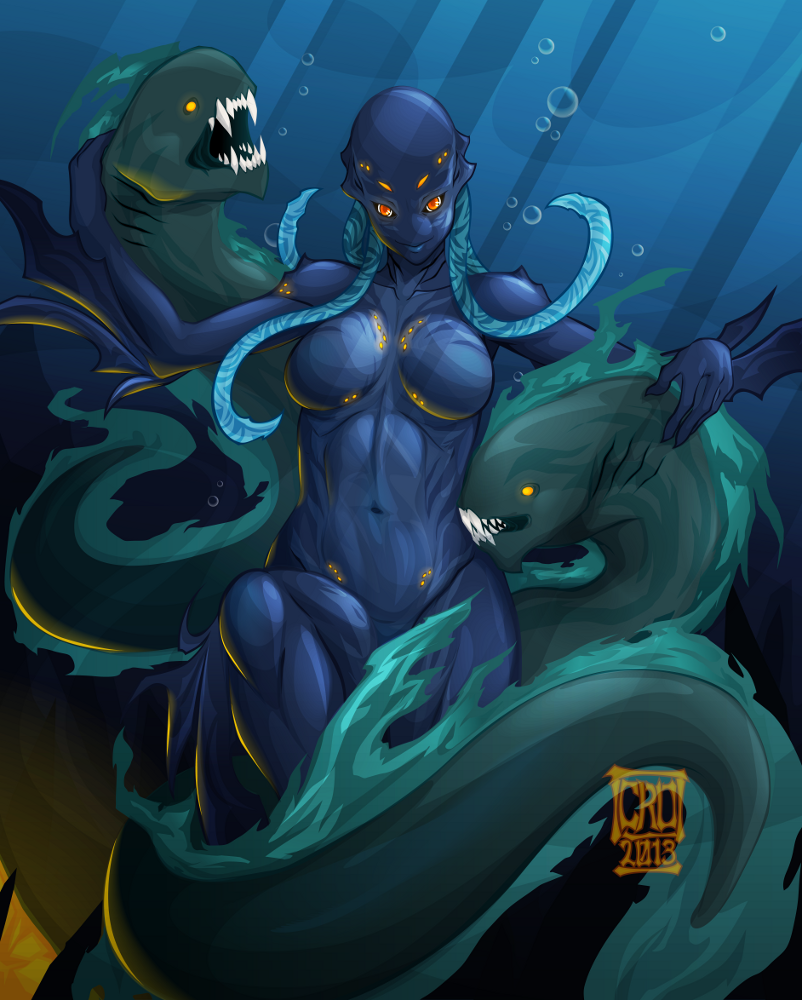 Shaltao of the Depths by Croxot