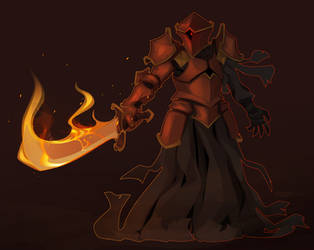 Furnace Knight by Croxot