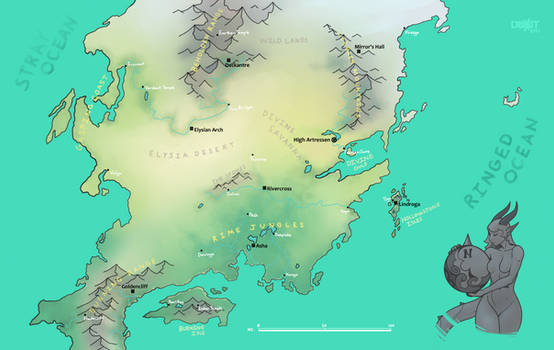 Map of the Drahklands