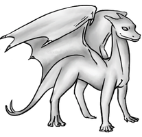 Dragon Template 5 by Virenn