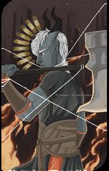 Dragon Age Tarot - The Tower