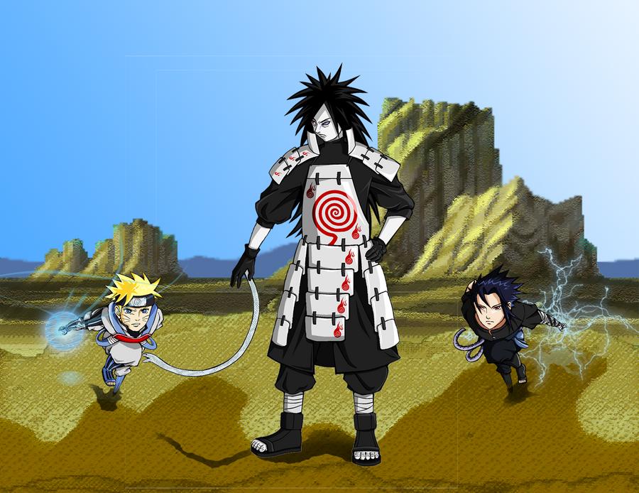 uchiha madara vs sasuke - photo #12
