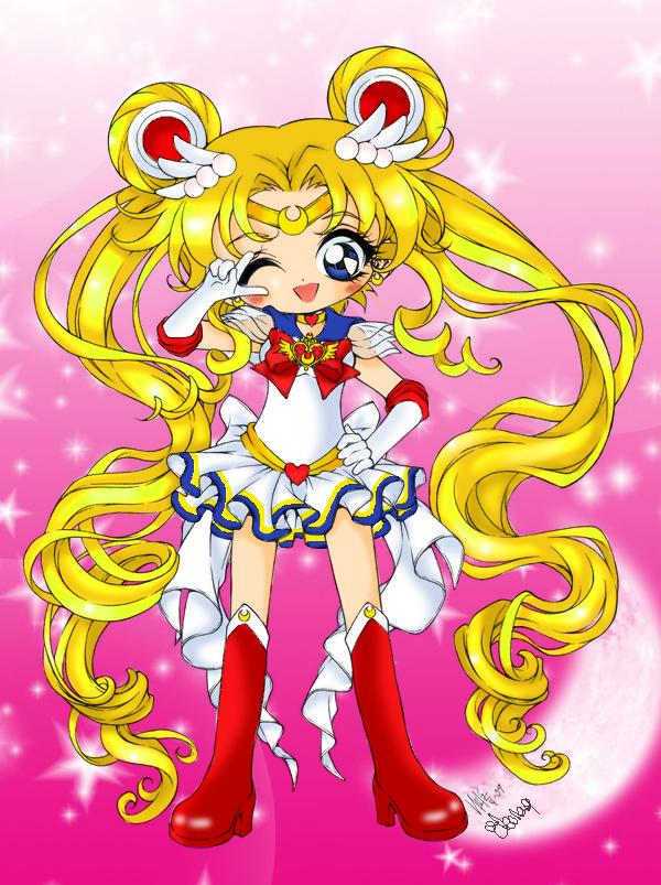 Super Sailor Moon by ele93