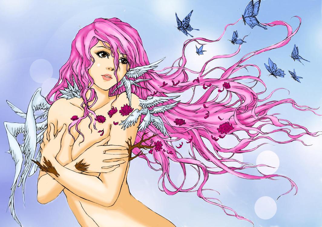 Lana - Lastnight's Fantasy (colored version) by ele93