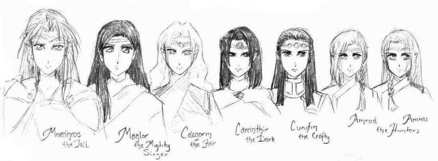 House of Feanor by Tenshi-Androgynous