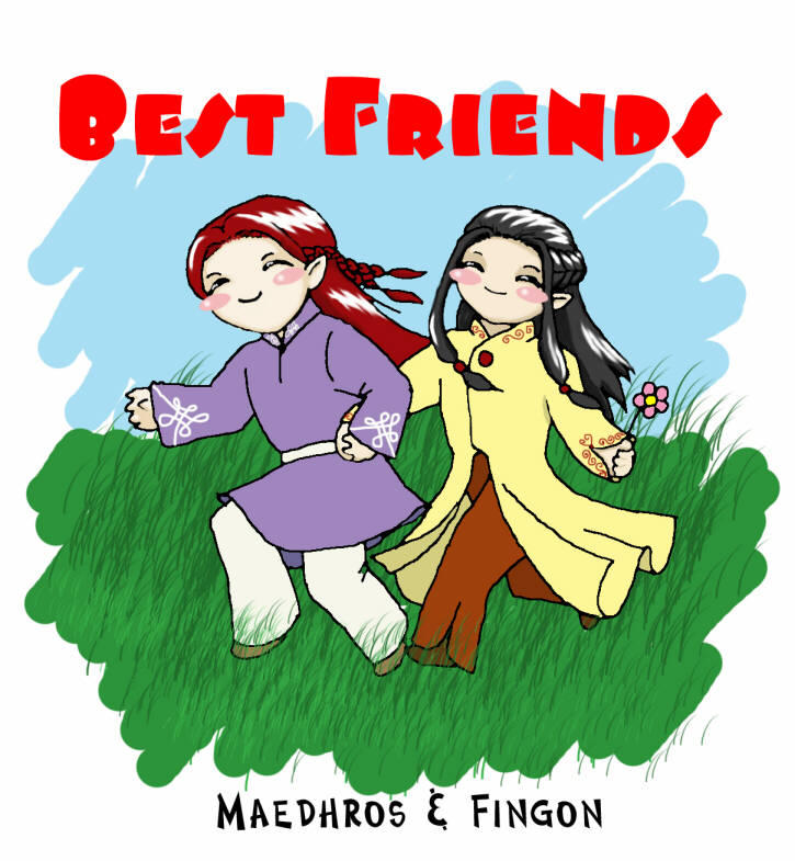 Best Friends by Tenshi-Androgynous