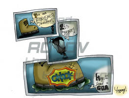theBuger VS mrShoe by royov