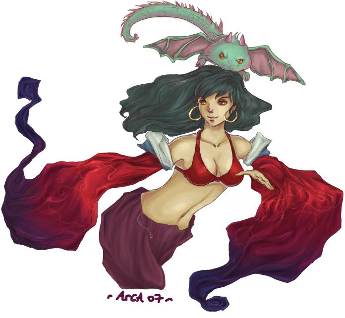 Gaia:Sayurisaya's Character by ArcaDia-Ice
