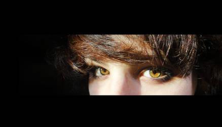 October's eyes.