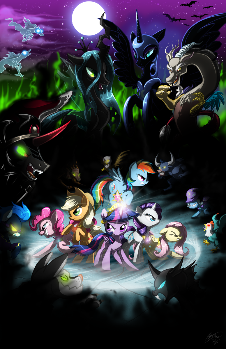 The FInal Showdown by AylaStarDragon