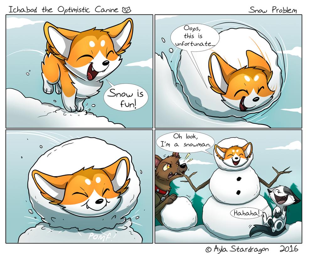ItOC #23 - Snow Problem by AylaStarDragon