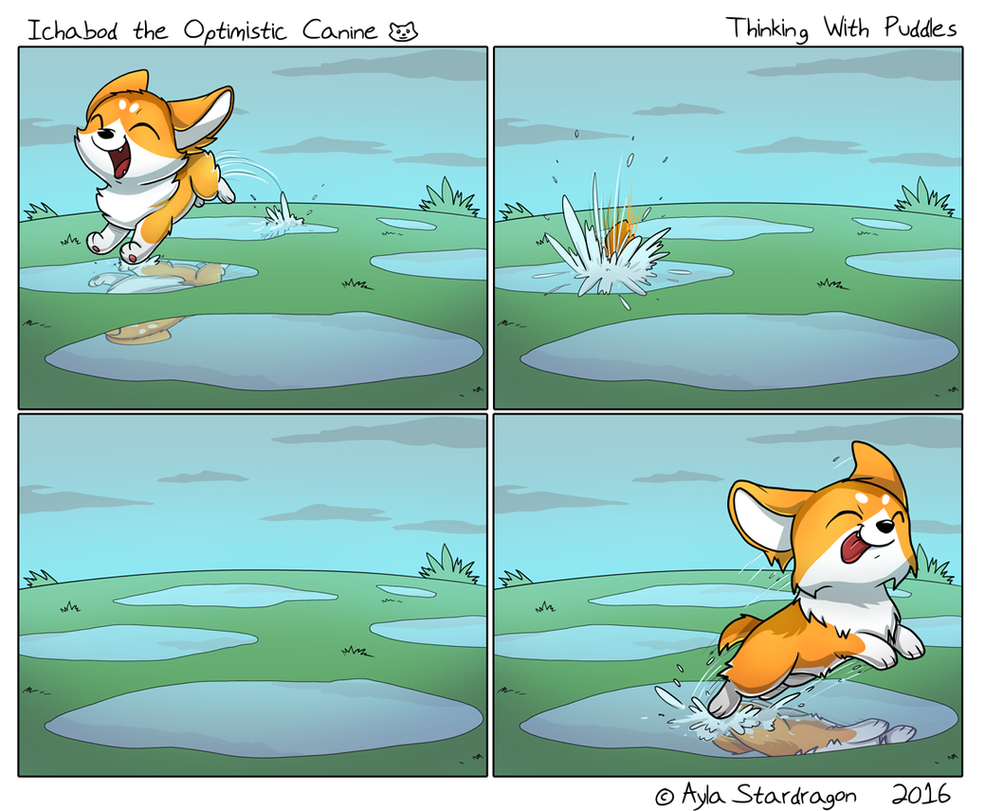 ItOC #24 - Thinking With Puddles by AylaStarDragon