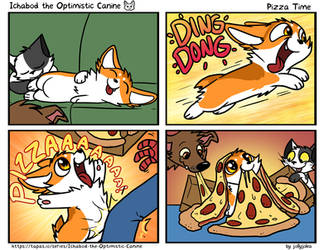 ItOC #59 - Pizza Time by AylaStarDragon