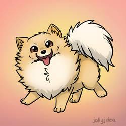 Doggie Doodles - Pomeranian