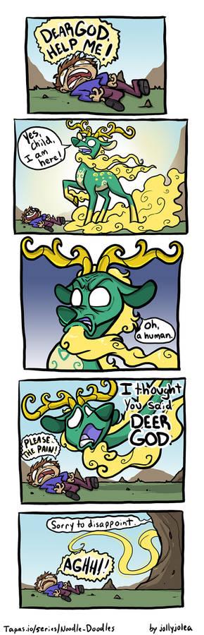 Noodle Doodles - Deer God