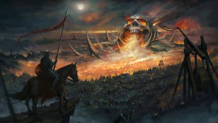 Skull Mountain by maxprodanov