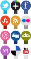 Freebie: Set of social icons