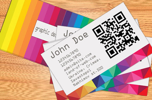 FREE Colorful Business Card PSD by NatalyBirch