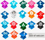FREE Graduation Hats Social Icons Pack