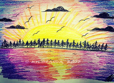 Sunset by kyloranda