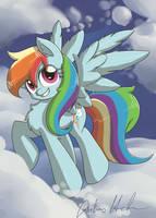 Rainbow Dash by nerow94