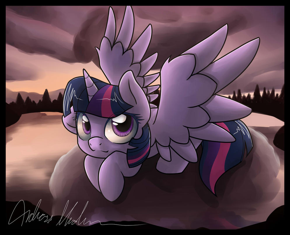 Twlight during twilight by nerow94
