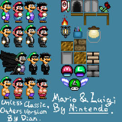 Owned SMW Sprites Ver.1 Big. by DianSanpel