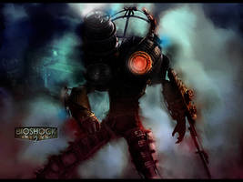 Bioshock 2 wallpaper by RedDevil00