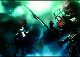 BioShock 2 WP by RedDevil00