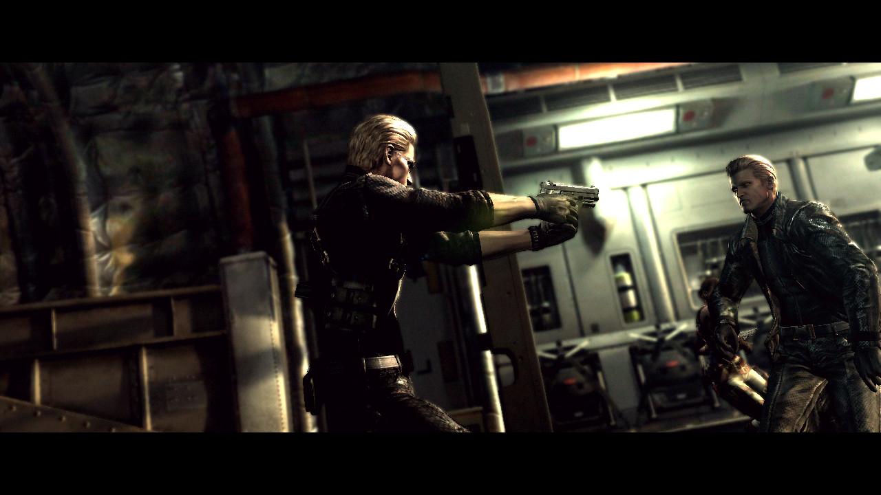 Resident Evil 5 Chris Vs Wesker
