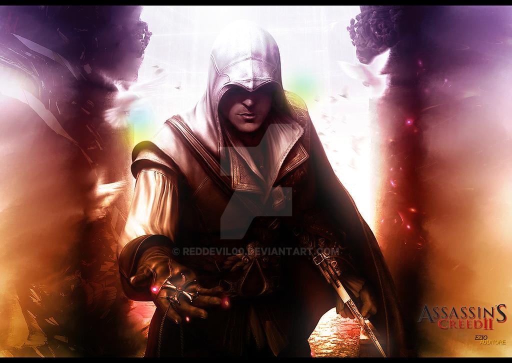 Ezio Auditore by RedDevil00