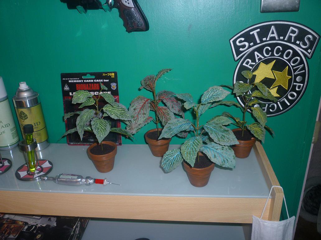 Resident Evil Herbs by RedDevil00