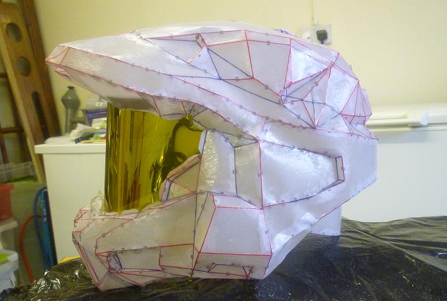 Halo Helmet WIP 2 by RedDevil00