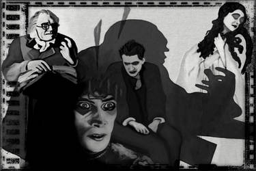 The Cabinet of Dr. Caligari Fan Art by kneipho