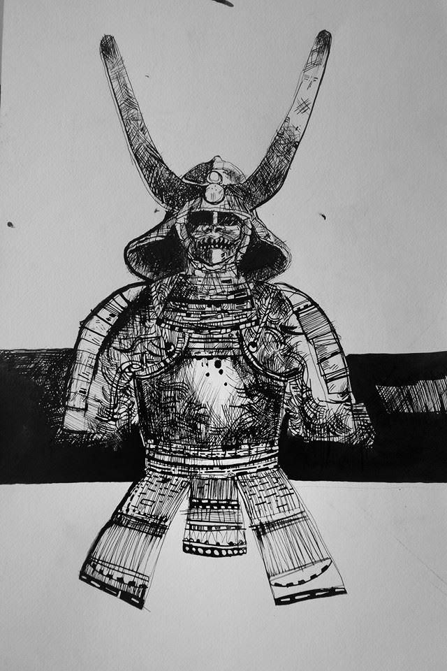 Samurai armor by smallblackbook