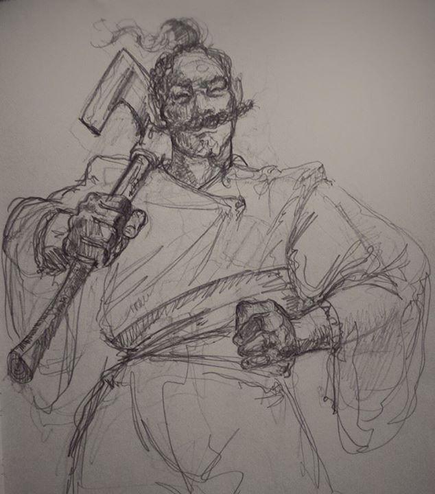 Cossack by smallblackbook