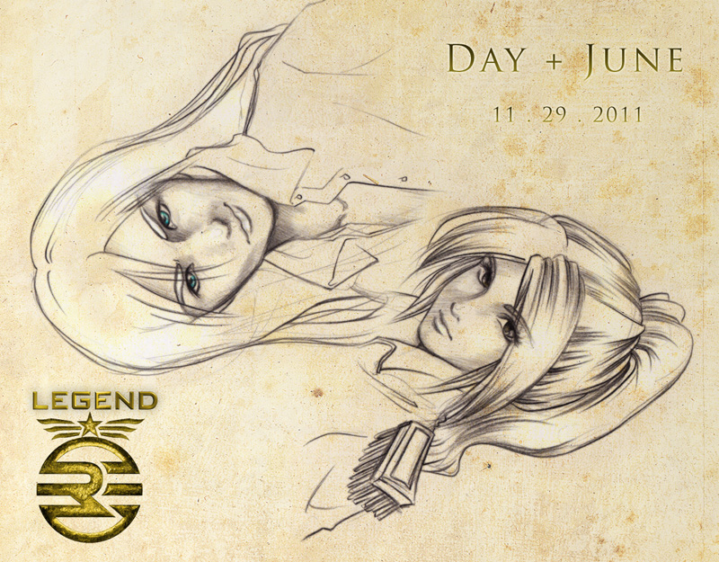 LEGEND--Realistic Day and June by mree