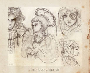 The Young Elites - sketchdump by mree