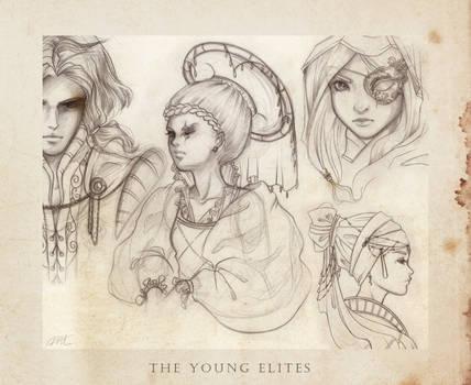 The Young Elites - sketchdump