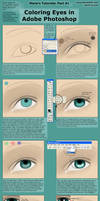 Coloring Eyes in Photoshop