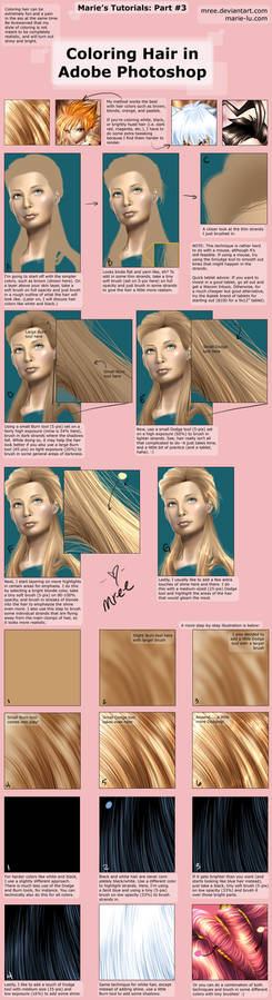 Coloring Hair in Photoshop